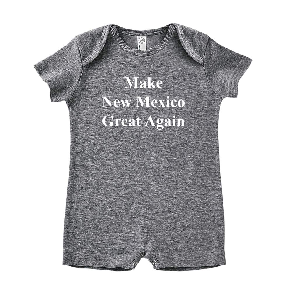 Mashed Clothing Make New Mexico Great Again MAGA Trump Republican Baby Romper