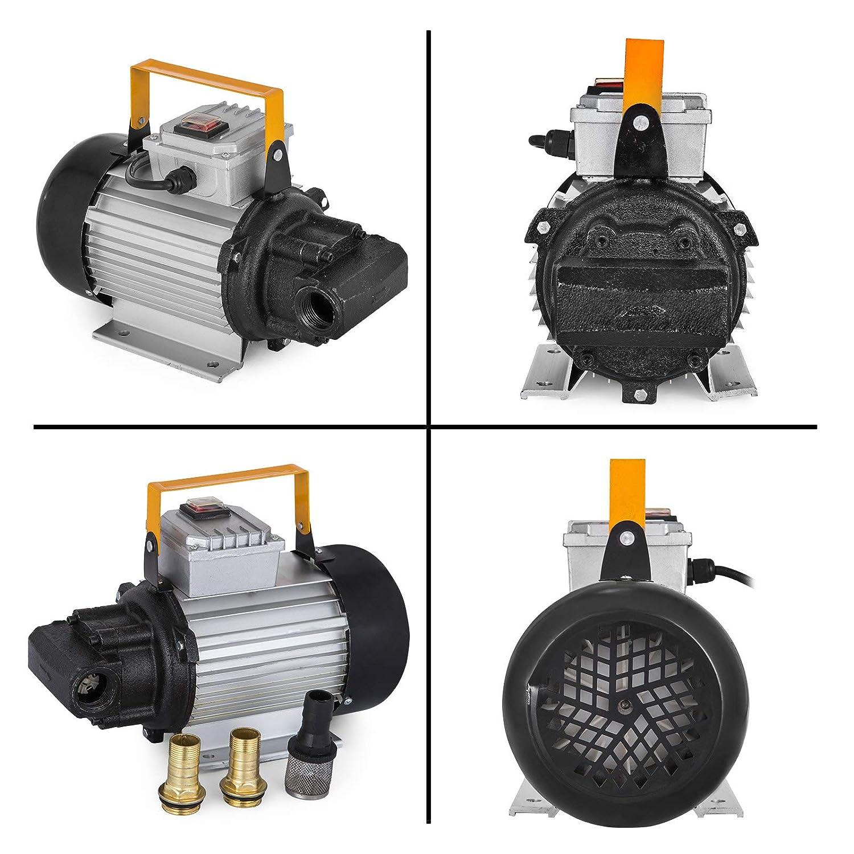 Mophorn Fuel Transfer Pump Nozzle 750W 60 L/min Fuel Transfer Pump Bio Diesel Kerosene Oil Transfer Pump With Fuel Nozzle And Hose