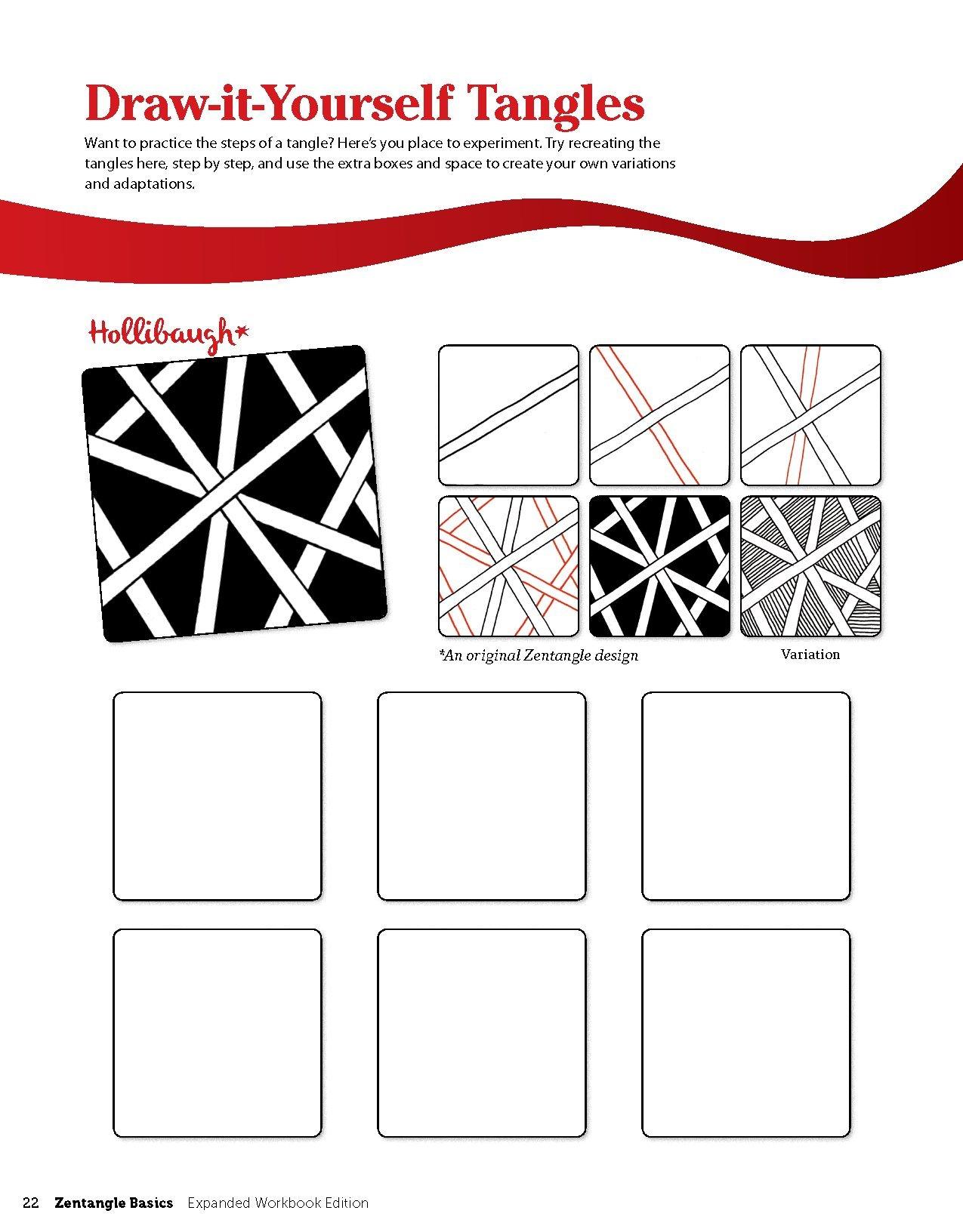 Zentangle 1 Basics Expanded Workbook Edition Amazon Co Uk Czt By