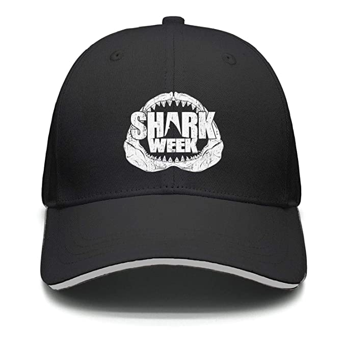 cde2a074b65 Shark-Week-Jaws- Men caps Dad Visor Baseball Hats at Amazon Women s ...