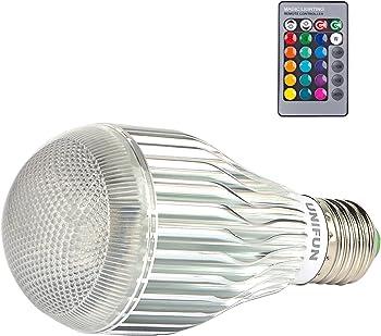 Unifun 12-Watt LED RGB Bulb