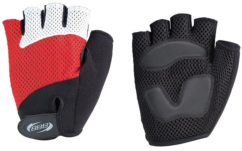 BBB BBW-36 CoolDown Glove Short finger mitt Red Large