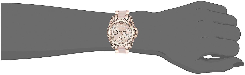 a0db98284787 Amazon.com  Michael Kors Women s Mini Blair Rose Gold-Tone Watch MK6175  Michael  Kors  Watches
