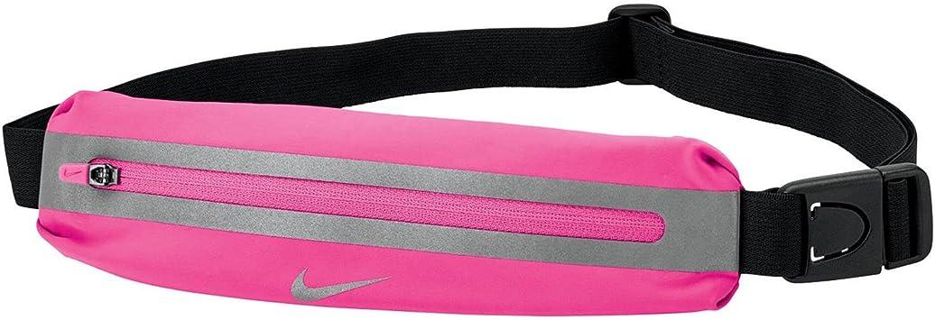 Nike Adultos Slim 0873855001443 Riñonera, Hyper Pink/Black/Silver, 0: Amazon.es: Deportes y aire libre