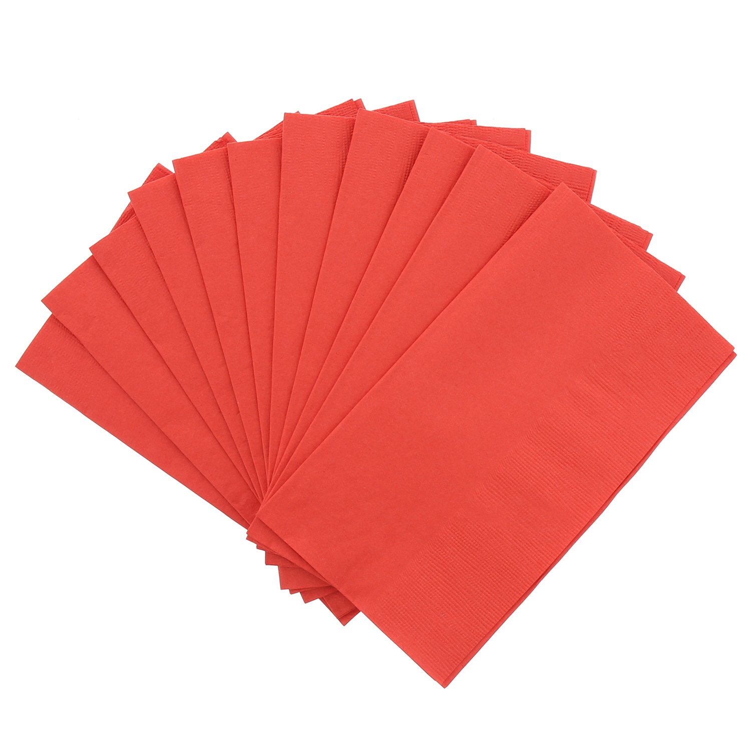 Package of 125 Royal Red Dinner Napkin