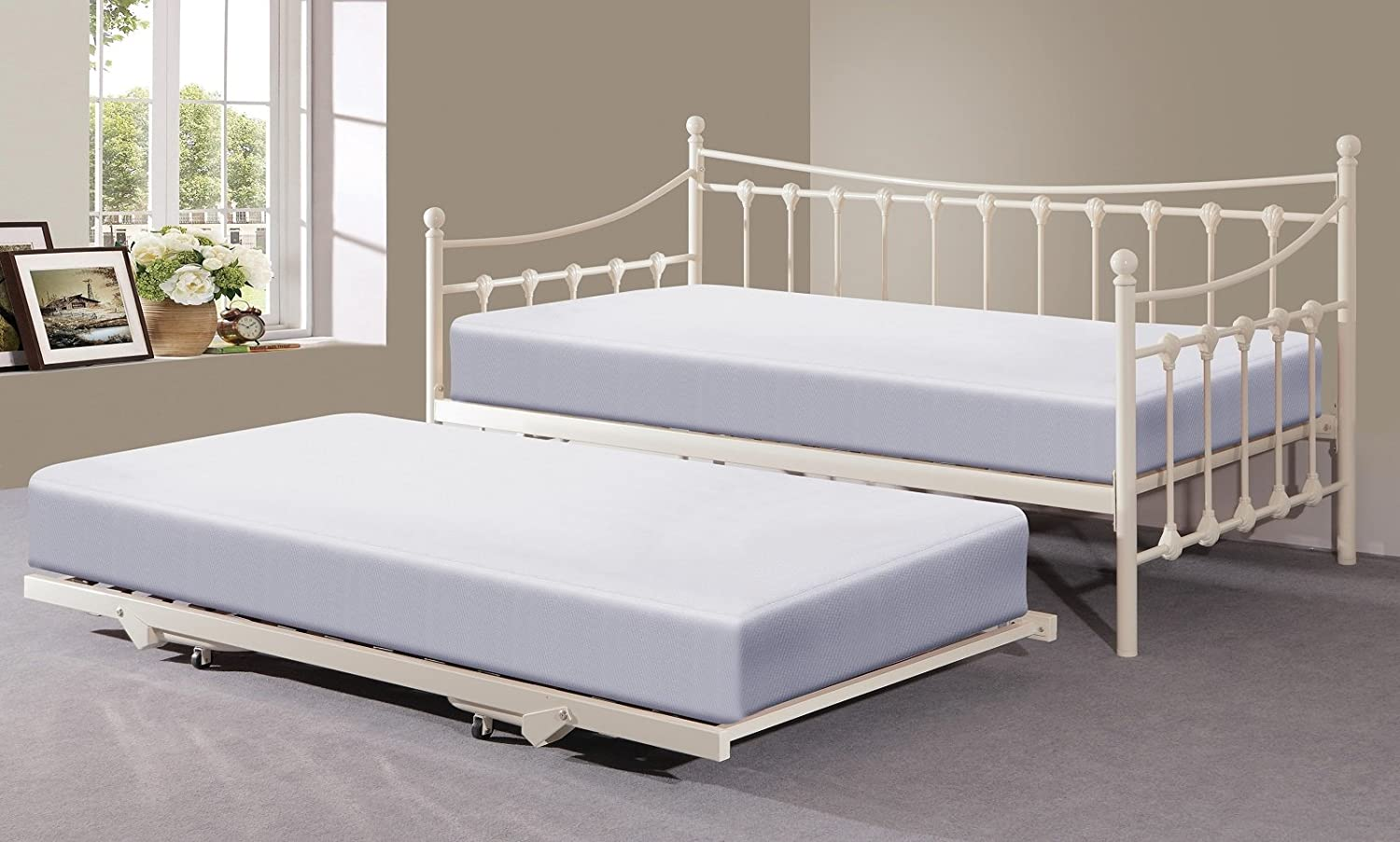 bed trundle s size day retail white captain p captains cambridge htm full with bookcase price