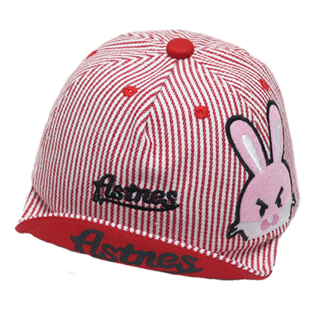 Baomabao Baby Boys Girls Hats Soft Cotton Sunhat Eaves Baseball Cap Sun Hat Beret Suitable for 1-4 Years Old Baby