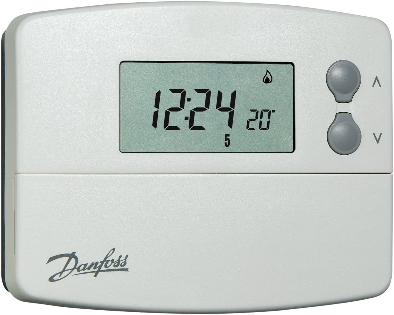 Danfoss battery-operated TP5001 programmable room thermostat