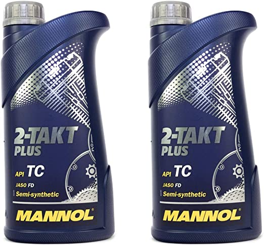 Engine Oil 2 Stroke Plus Engine Oil Mannol Api Tc 2 Litre Auto