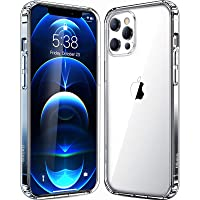 Mkeke Crystal Clear Case for Apple iPhone 12 / 12 Pro