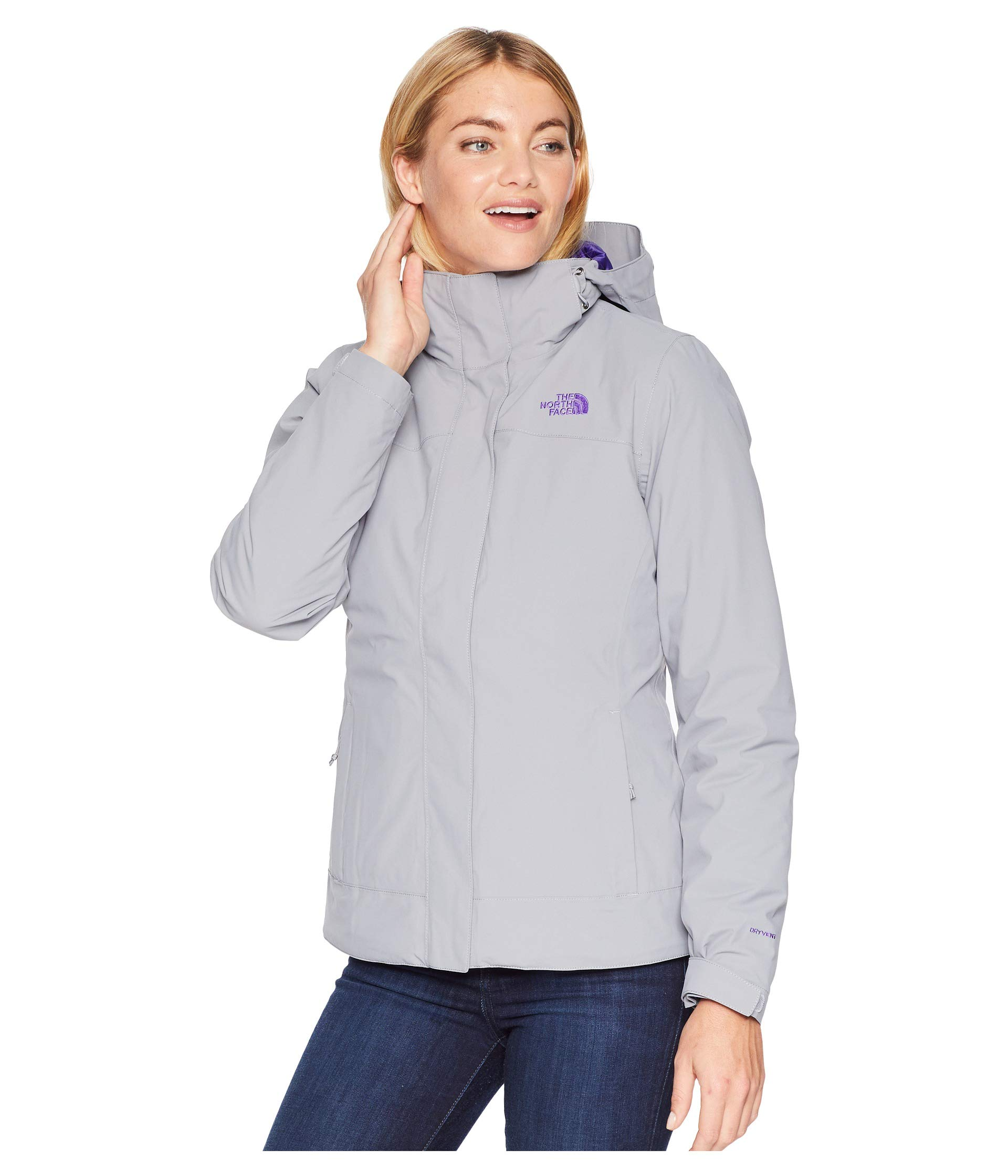 The North Face Women's Carto Triclimate Jacket - Mid Grey & Mid Grey - S by The North Face