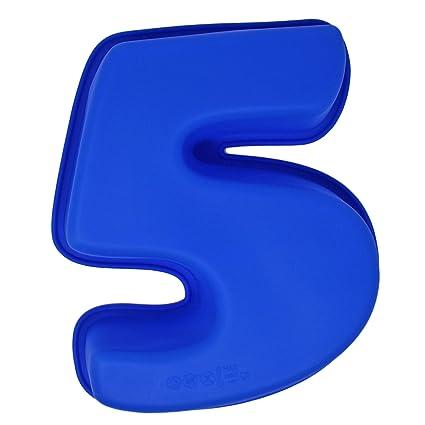Premium Numero Tortiera Silicone Numeri 0 9 Grande Stampo Per