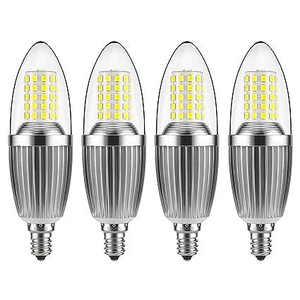 Gezee Led Candelabra Bulb Non Dimmable 100 Watt Light Bulbs