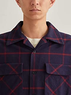 Wool Board Shirt 3211-499-2698: Navy
