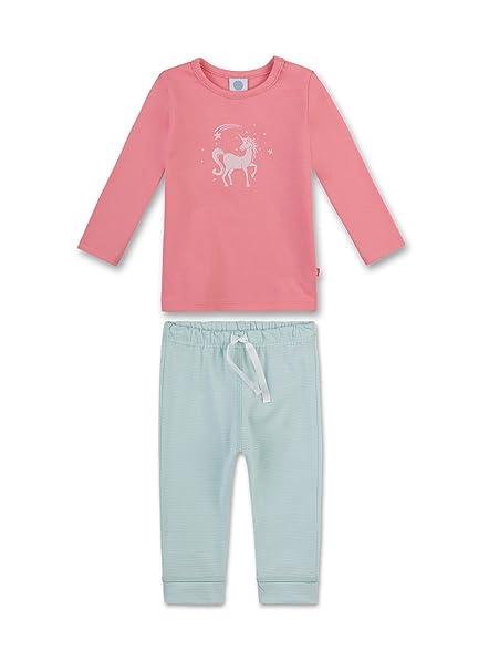 Sanetta 221346, Conjuntos de Pijama para Bebés, Rojo (Sharon 3419), 98