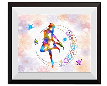 Uhomate Pretty Soldier Sailor Moon Home Canvas Prints Wall Art Anniversary  Gifts Baby Gift Inspirational Quotes Wall Decor Living Room Bedroom ...