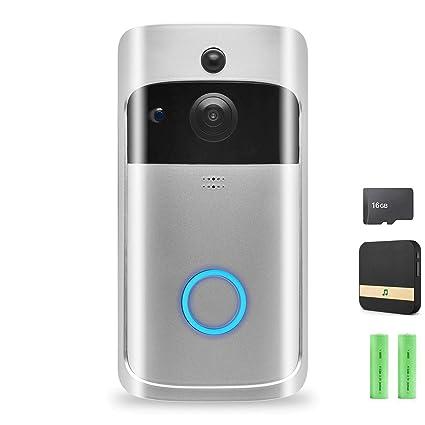 Video Doorbell,Wireless Doorbell Security Smart Camera: Amazon in