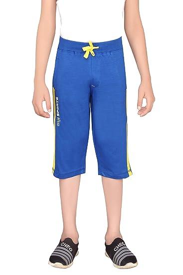 Buy GREENWICH Boy's Slim Fit Capris at Amazon.in