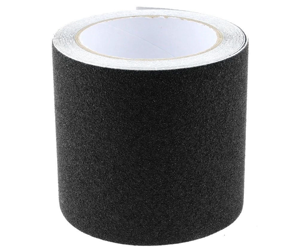 Conformable Black High Grip Anti Slip Tape Non Slip Adhesive Backed Tape 10CMx5M HDIGIWORLD
