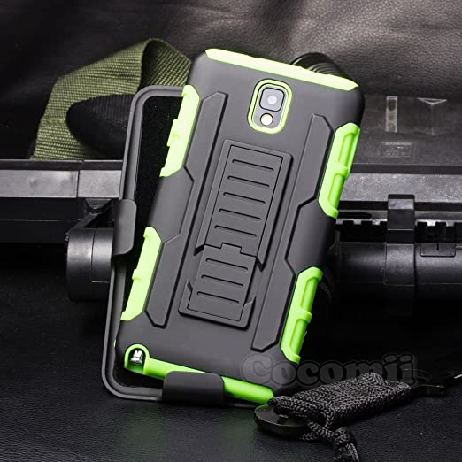 36 opinioni per Galaxy Note 3 Custodia, Cocomii Robot Armor NEW [Heavy Duty] Premium Belt Clip