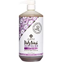 ALAFFIA-EVERYDAY COCONUT Body Wash Lavender Deep Moisture, Normal to Very Dry Skin, 950 Milliliter