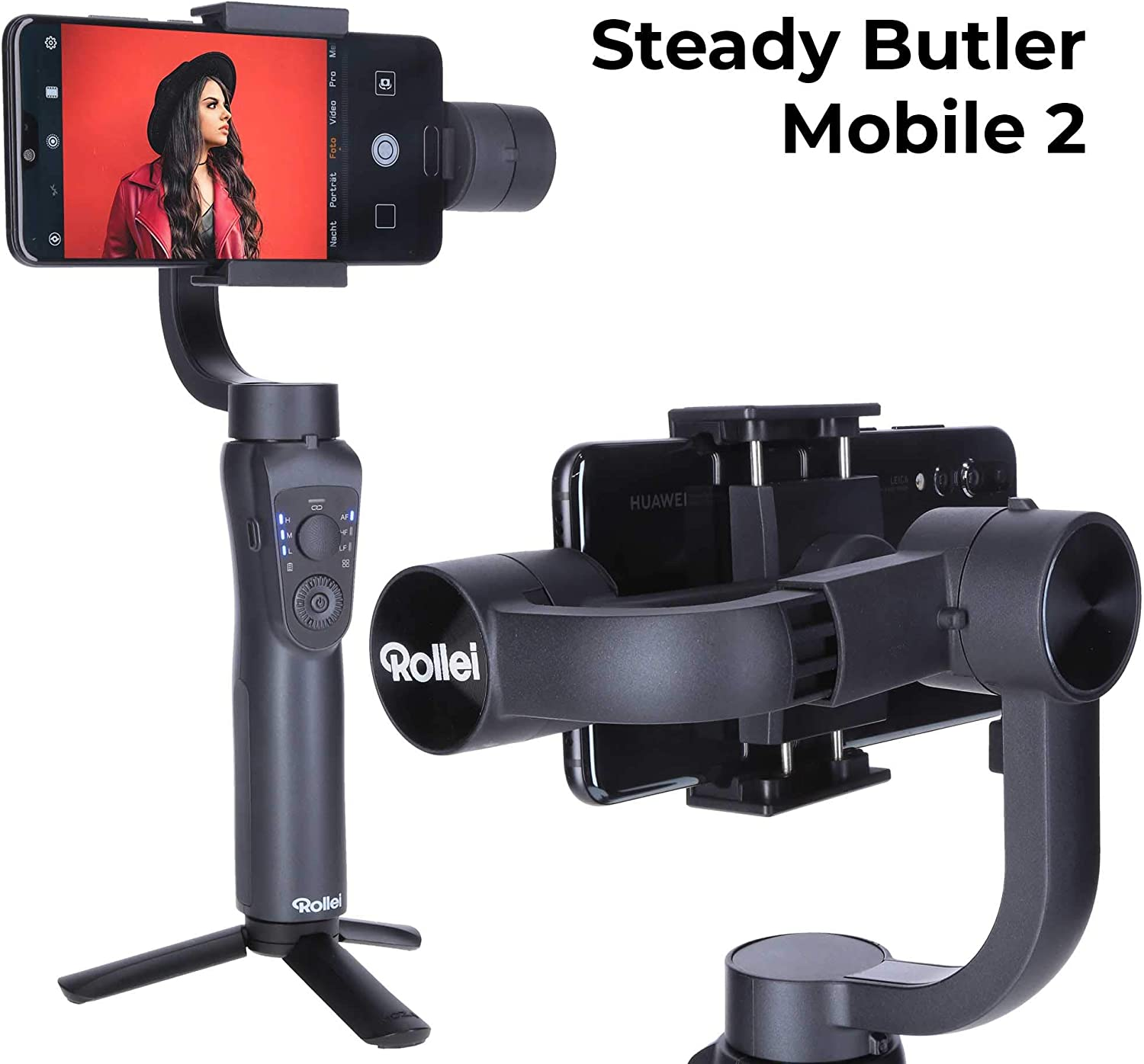 Rollei Steady Butler Mobile 2 Smartphone Gimbal I Timelapse ...
