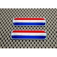 Niederlande/Holland Flagge 3D Aufkleber Aufkleber Set