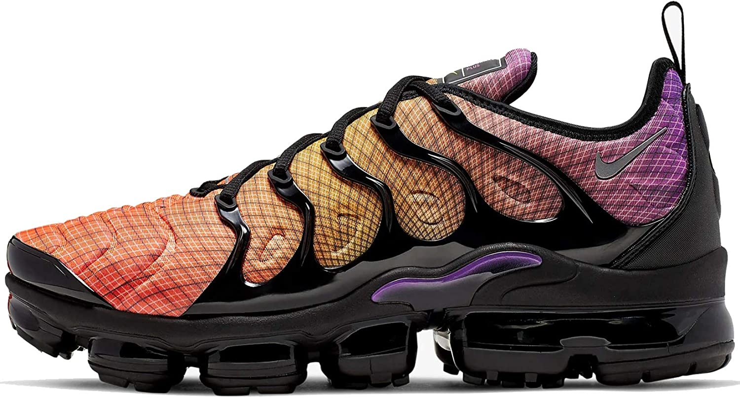 Nike Air Vapormax Plus Hombres Zapatos, (Carmesí brillante/Plateado reflectante.), 45.5 EU: Amazon.es: Zapatos y complementos