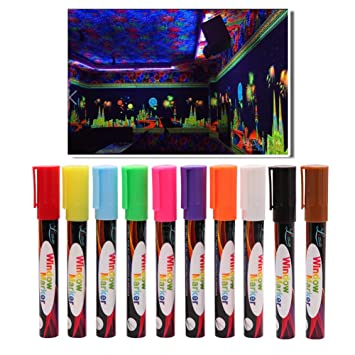 Rotuladores de tiza, 10 colores brillantes marcadores de ...