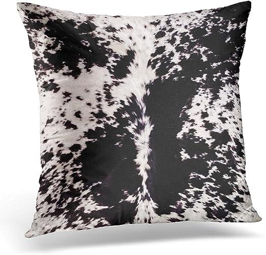 Cowhide Pillow Case Cowhide Pillow Cover