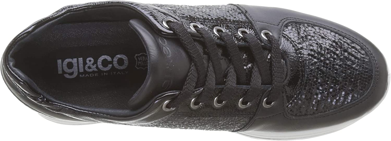 IGI&Co Donna-41466 Damessneakers Schwarz Nero 4146600