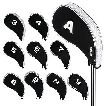 Andux nuevo diseño funda de palo de golf hierros con ...
