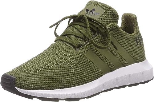 adidas Swift Run C, Zapatillas Unisex Niños, Verde (Olive Cargo/Olive Cargo/Carbon 0), 35 EU: Amazon.es: Zapatos y complementos