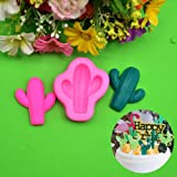 Unmengii Bakery Chocolate Candy Clay Sugar Craft Pastry Making Cake Decor Cactus Silicone Mold Baking Tools Cookies Mould