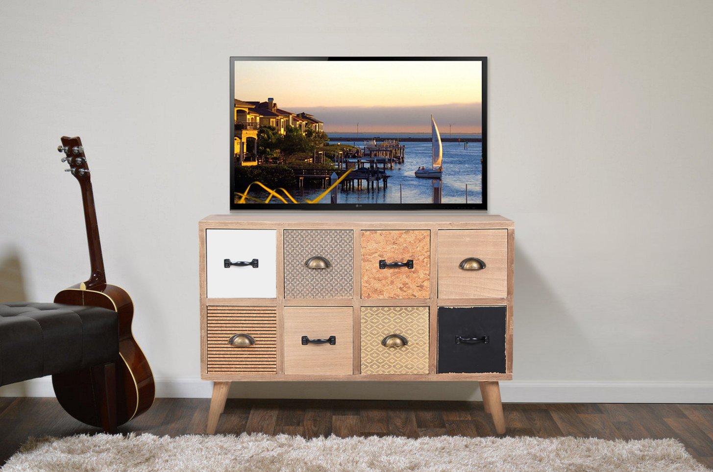 Credenza Per Salone : Viva home cassettiera in legno cm credenza per