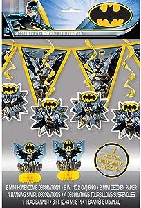 Batman Party Decorating Kit, 7pc