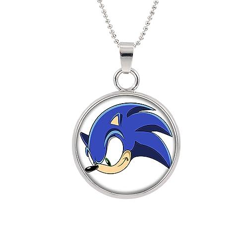 Amazon.com: Sonic el erizo collar con colgante personaje ...