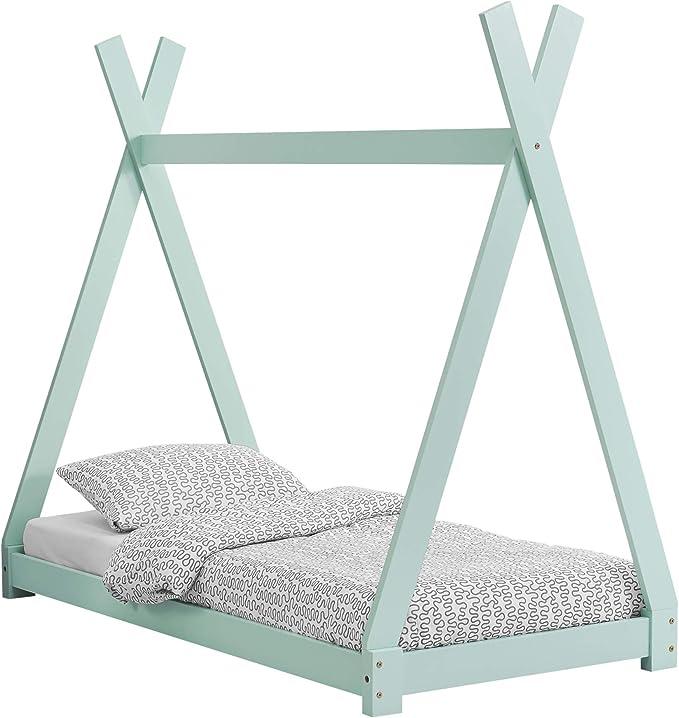 [en.casa] Cama para niños 80 cm x 160 cm Cama Infantil ...