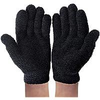 NatraCure - Guantes y calcetines de gel, Black Gel Gloves, Black Gel Gloves