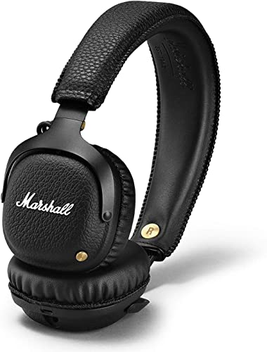 Marshall Mid Bluetooth Wireless On-Ear Headphone, Black 04091742
