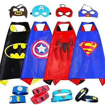 happium superhéroe - Disfraces para Niños - 4 capa, 4 ...