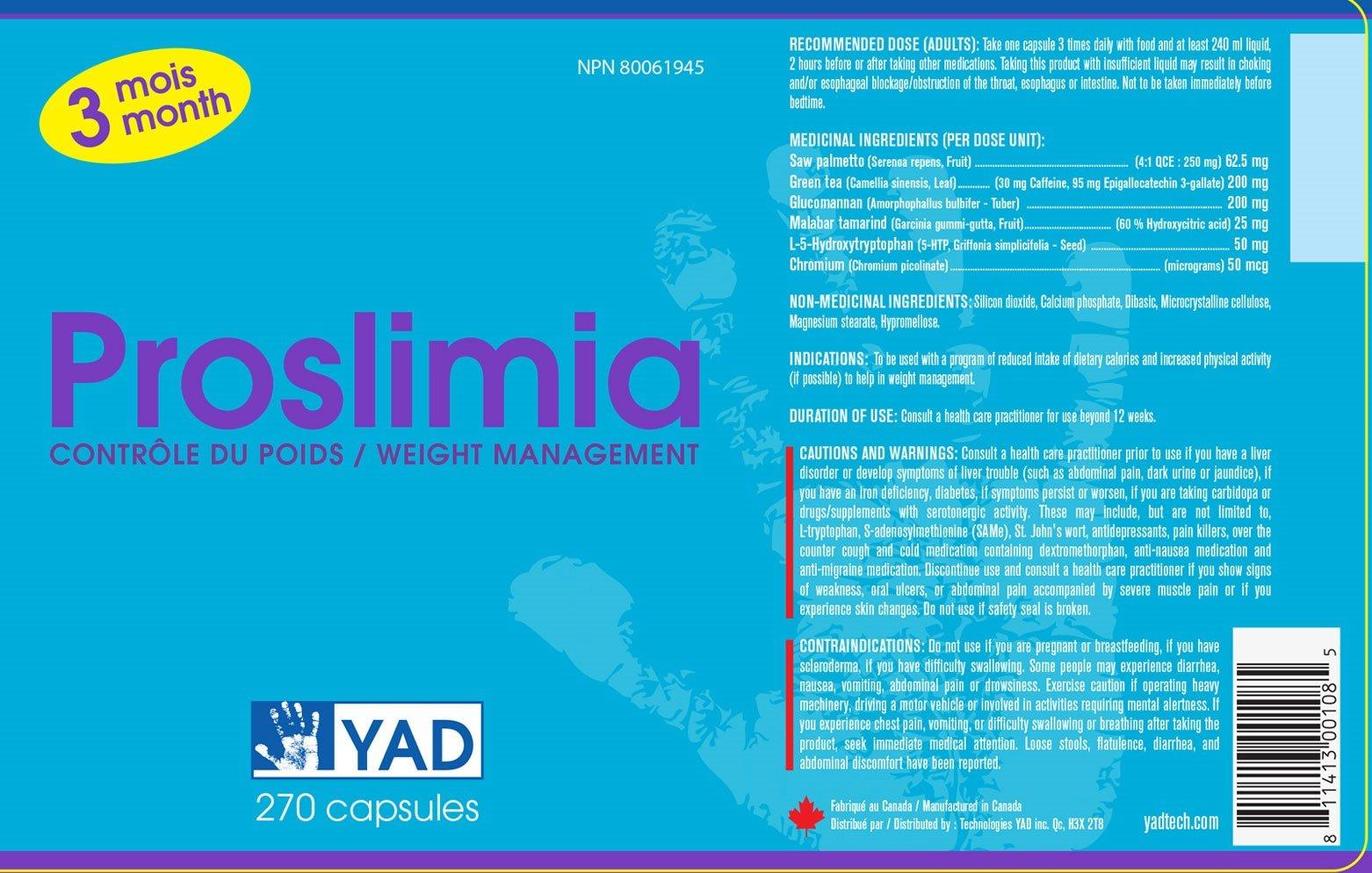 Proslimia - Weight Management Supplement
