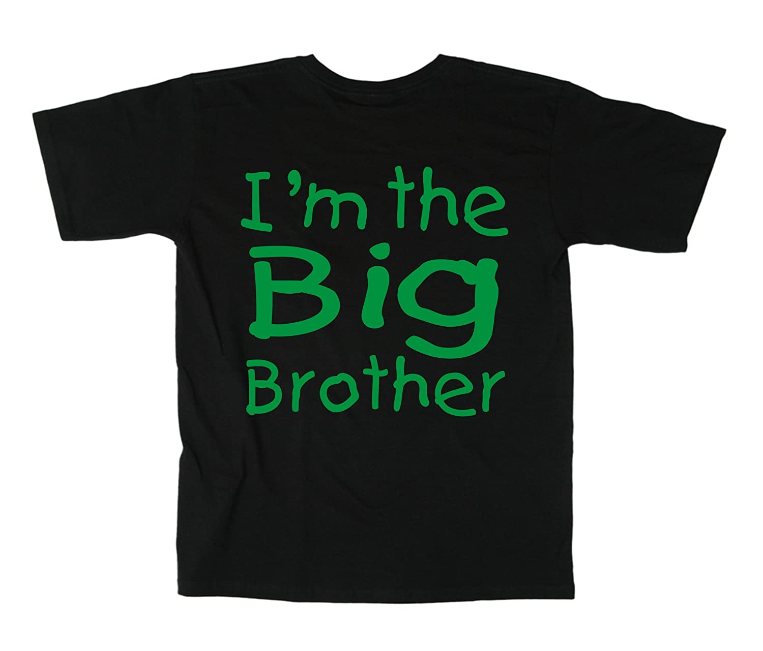 "blu T-shirt /""Im The Big Brother/"" colore taglie da 0-6 mesi a 14-15 anni"