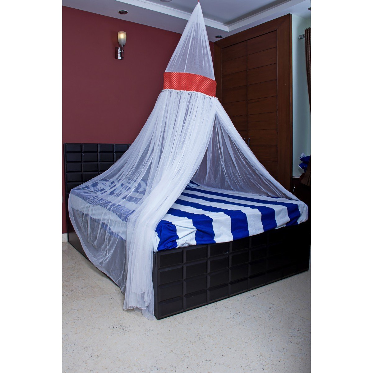 Mosquito Nets - King Size Premium Mosquito Net Canopy for