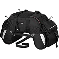 ViaTerra Claw - Motorcycle Tail Bag with raincover Incl. (Black)