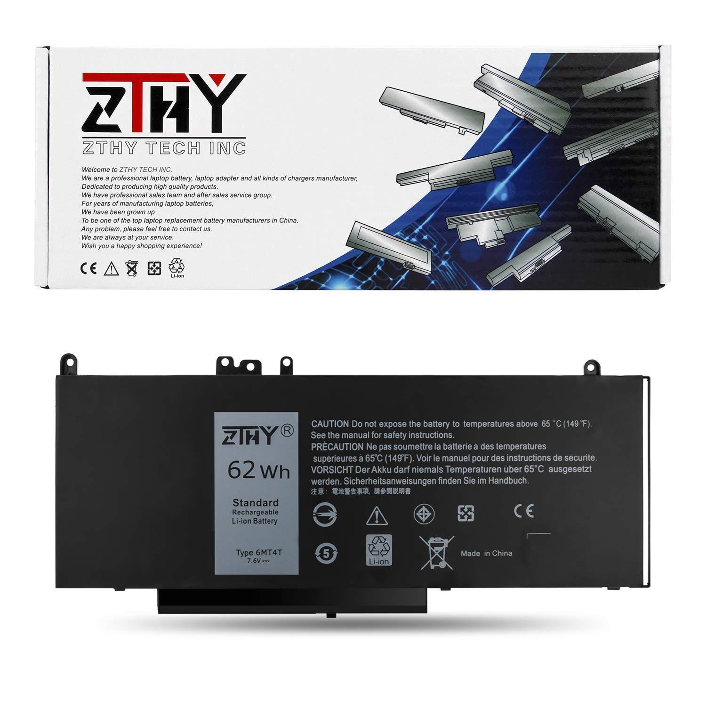 Bateria ZTHY 62WH 6MT4T para Dell Latitude E5470 14 Latitude E5570 15.6 Pricision 3510 PC 7V69Y TXF9M 0C1P4 79VRK 07V69Y