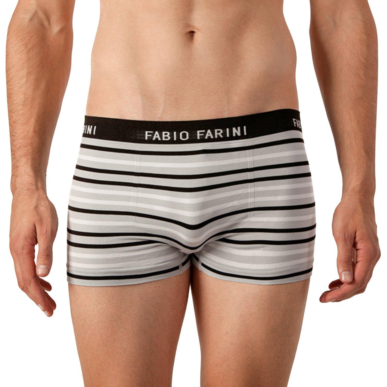 f13648c0c4 Fabio Farini 4er-Pack seamless Herren Boxershorts aus Microfaser größeres  Bild