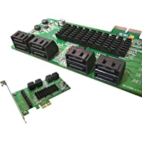 KALEA-INFORMATIQUE © - Carte Controleur PCI EXPRESS (PCI-E) vers SATA 3 - 8 PORTS - CHIPSET MARVELL 88SE9705 - Windows 2000, XP32/64, Vista32/64, Seven et 8 32/64 - Server 2012, Mac OS X 10.6 et au delà, Linux Kernel 2.6.19 et au delà.
