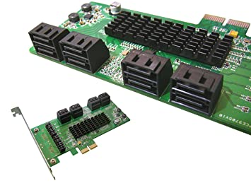 Kalea Informatique – Tarjeta de control PCI Express de SATA 3, 8 puertos, chipset Marvell 88se9705; Windows 2000, xp32/64, Vista32/64, 7 y 8 32/64; ...