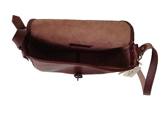 La Tolfetana Borsa in pelle artigianale - Modello Catana Misura Grande  Colore Marrone Testa di Moro  Amazon.it  Scarpe e borse b32fcfb8bb7